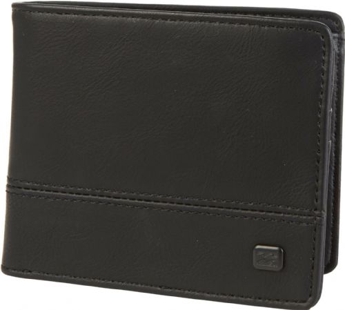 BILLABONG MENS WALLET.DIMENSION BLACK FAUX LEATHER MONEY CARD COIN PURSE 9W 3/19